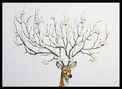 SN, 'Wish Tree (White)', 2019