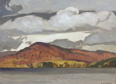 Alfred Joseph Casson, 'October - Penn Lake', 1972