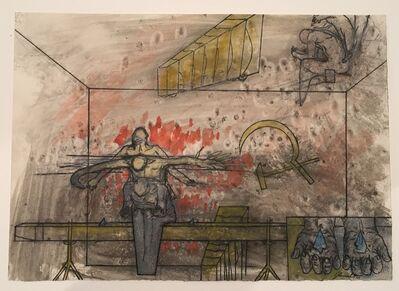 Bruno Gironcoli, 'Ohne Titel (Glassplitter)', ca. 1970
