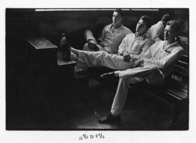 Danny Lyon, 'Three Convicts, The Walls, Texas', 1969