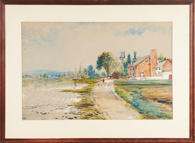 Edmund Darch Lewis, 'Three Untitled Watercolors On Paper', 1909
