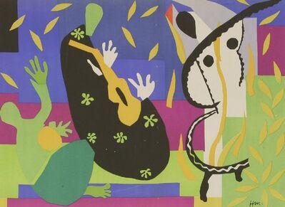 Henri Matisse, 'Tristesse Do Roi (Sorrow Of The King); Nu Blue Vi; La Negresse', 1954
