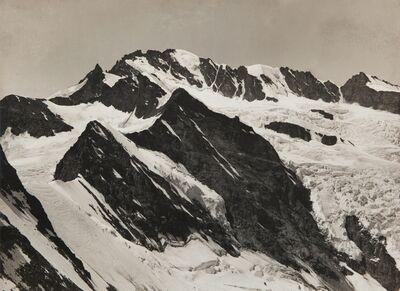 Vittorio Sella, 'Il Gran Paradiso dal col Baretti 1894'