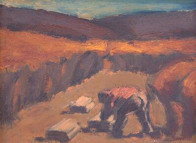 Josef Herman RA, 'Harvester', 1963