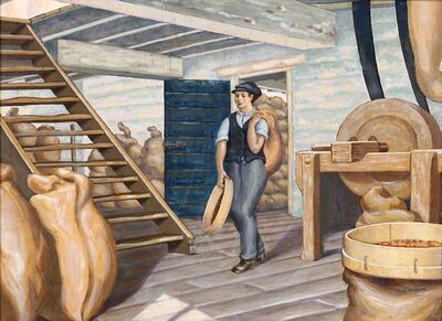 Robert Arthur Wilson, 'Emsworth Flour Mill'