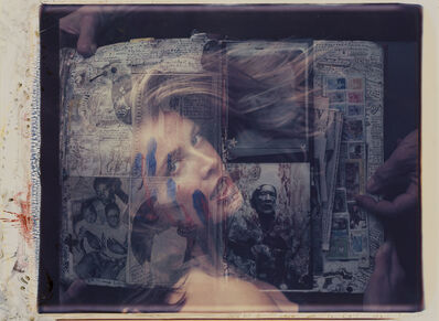 Peter Beard, '[Diary page] The Gardeners of Eden Frederique & Tayiana c/o Lenana', April 15-1990