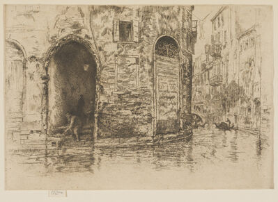 James Abbott McNeill Whistler, 'The Two Doorways', 1880