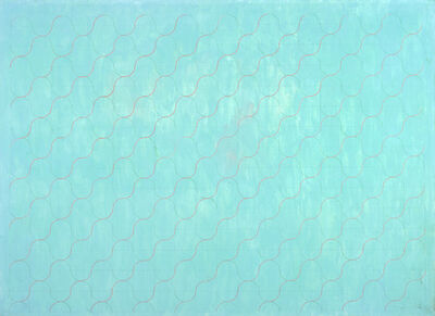 Perle Fine, 'A Criss Cross of Currents #1', c. 1970