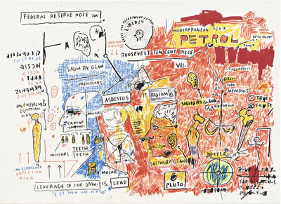 Jean-Michel Basquiat, 'Liberty', 1982-1983/2017
