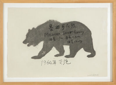 Yang Maoyuan, 'Mexican Silver Grizzly', 2007
