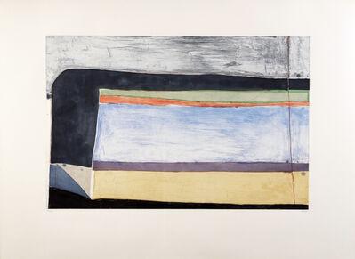 Richard Diebenkorn, 'Indigo Horizontal ', 1985