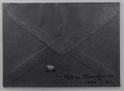 Tatsuo Kawaguchi, 'Relation - Lead Envelope / Letter of Rice', 1989