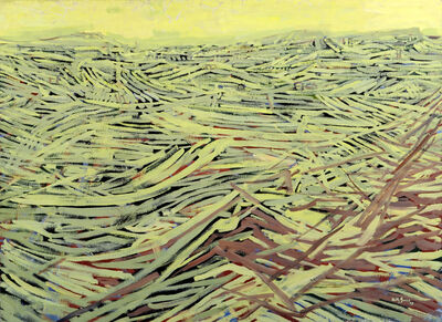 Anthony Gross, 'Field Landscape', 1958