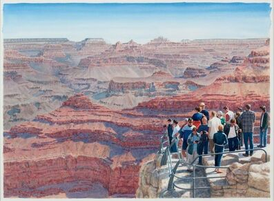 Tim Gardner, 'Tourists at Grand Canyon', 2012