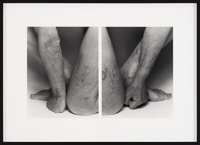 John Coplans, 'Self Portrait, Body Parts, No. 19', 2002