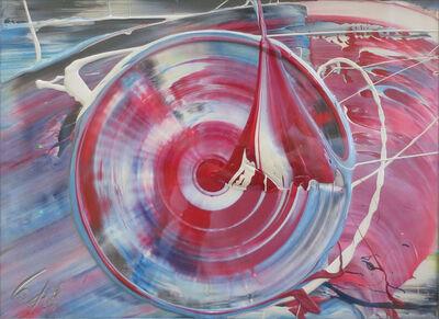 Kazuo Shiraga, 'Untitled (Red Circle)', 1982