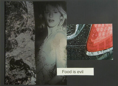 Johannes Wohnseifer, 'Food is Evil', 2006