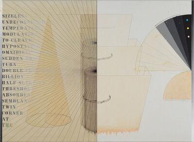 Shusaku Arakawa, 'Waiting Voices', 1976-1977