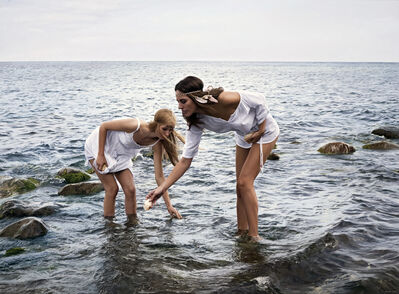 Philipp Weber, 'New birth 3 - Hannah and Christina', 2016
