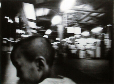 Daido Moriyama, 'New Japan Scenic Trio 2: Ueno Terminal Station', 1982