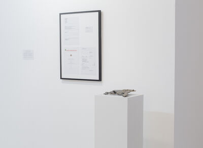 Agnieszka Kurant, 'Mutations and Liquid Assets', 2014