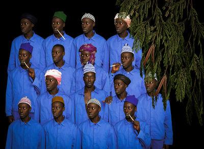 Omar Victor Diop, 'Les Cheminots du Dakar Niger, 1938 et 1947', 2016