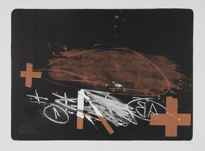 Antoni Tàpies, ' A effacé', 1974