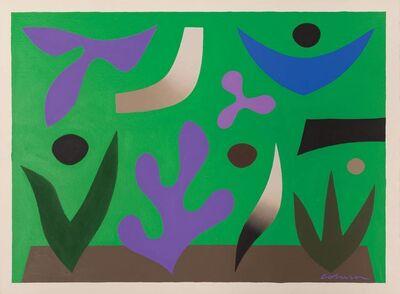 John Coburn, 'Spring Garden', 1976