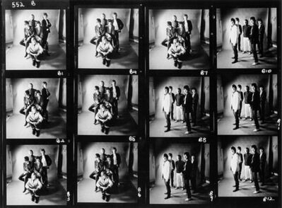 Gered Mankowitz, 'Stones Contact Sheet.  ', 1965
