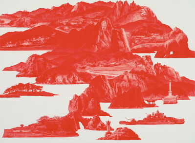Sea Hyun Lee, 'Between Red_121', 2010