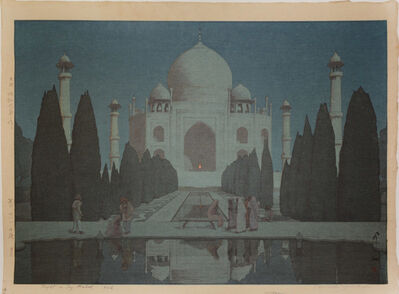 Yoshida Hiroshi, 'Night in Taj Mahal No.6', 1931