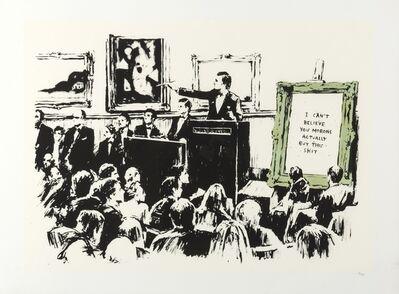Banksy, 'Morons (LA Edition)', 2006