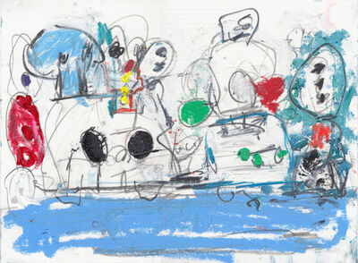 Taher Jaoui, 'A la playa', 2020