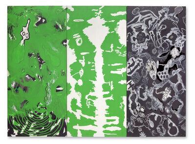 Luis Gordillo, 'Dibujante en selvas', 1985