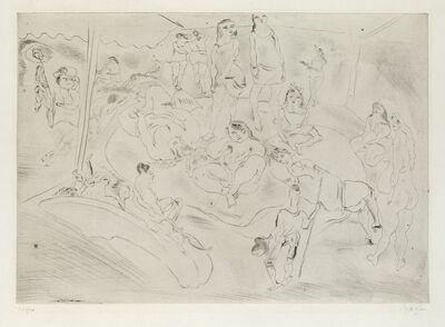 Jules Pascin, 'L'Enfant Prodigue chez les Filles', 1926