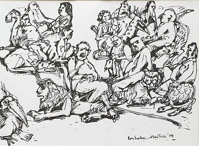 "Ashoke Mullick, 'Untitled, Ink on Paper by Contemporary Artist ""In Stock""', 2014"