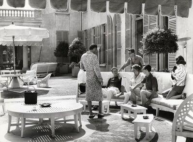 Benno Graziani, 'Gianni Agnelli, Carlo Caracciolo, Marella Agnelli and Carlo de Robilan. July 1957.', 1957