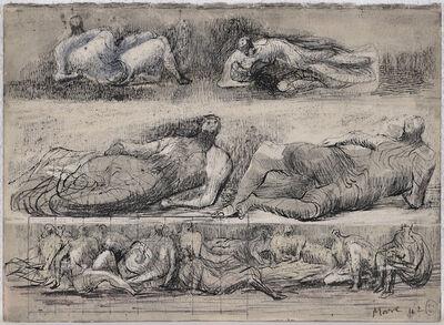 Henry Moore, 'Reclining Figures', 1942