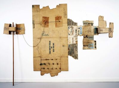 Robert Rauschenberg, 'Lake Placid / Glori-Fried / Yarns from New England (Cardboard)', 1971