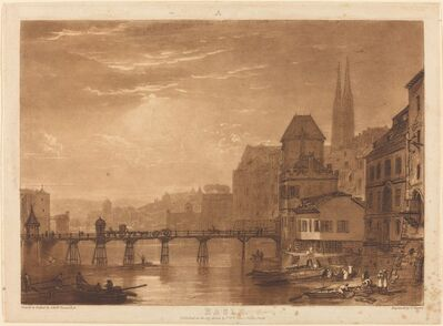 J. M. W. Turner, 'Basle', published 1807