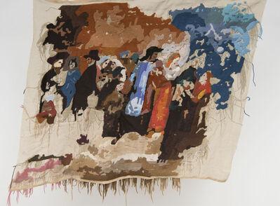 "Bertille Bak, 'Banner 5, from ""L'incendie"", Ary Scheffer', 2012"