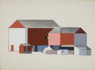 Charles Sheeler, 'Barn Abstraction', 1946