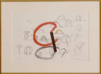 Nobuo Sekine, '円を描く', 1997