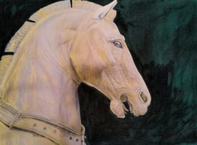 Patrick Faure, 'Helios Horse'