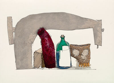 Irving Penn, 'Still Life with Skull, Bottle and Sewing Machine', 2005