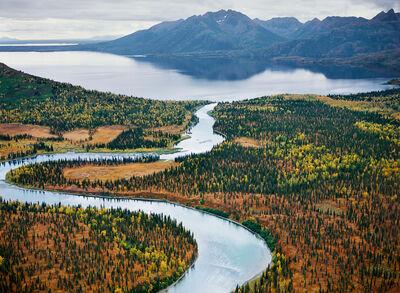 Robert Glenn Ketchum, 'The Allen River Enters Lake Chauekuktuli, Alaska', 2001