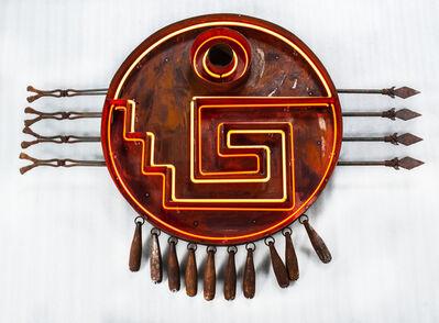 Sabino Guisu, 'Chimalli Yanhuitlán (Escudo 3)', 2019