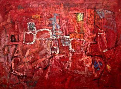 Joseph J. Meert, 'Figuration in Reds', c. 1955