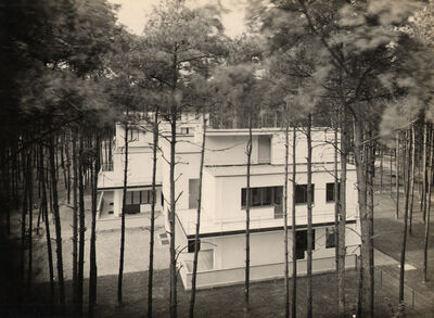 Walter Gropius, 'Masters' House, Bauhaus Dessau', 1925-1932