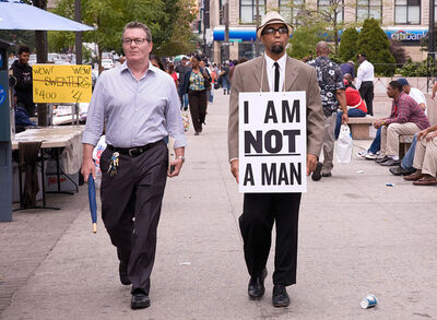 Dread Scott, 'I Am Not A Man', 2009